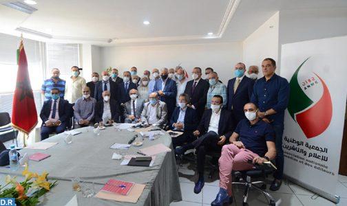 الدار البيضاء .. ميلاد الجمعية الوطنية للإعلام والناشرين وانتخاب السيد عبد المنعم الدلمي رئيسا لها