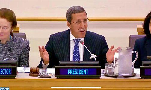 الأمم المتحدة: السفير هلال يترأس اجتماعا افتراضيا رفيع المستوى حول منطقة الساحل الوسطى