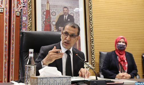 السيد العثماني يدعو مجموعة العمران إلى مواصلة التنسيق مع وزارة إعداد التراب الوطني لاعتماد مقاربة جديدة تأخذ بعين الاعتبار المتغيرات لما بعد جائحة كورونا
