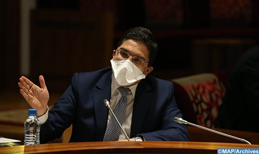 السيد بوريطة يشارك في اجتماع افتراضي لوزراء خارجية الدول الأعضاء في الوفد الوزاري العربي المنبثق عن لجنة مبادرة السلام العربية