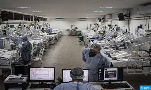 كوفيد-19 بالبرازيل .. تسجيل 1262 حالة وفاة في ظرف 24 ساعة