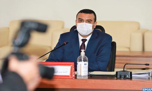"""""""كوفيد19"""".. السيد أمكراز يؤكد الحاجة إلى إرساء دعائم نظام سوسيو اقتصادي أكثر عدلا وإنصافا"""