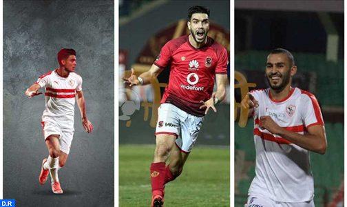 لاعبون مغاربة سطع نجمهم وتألقوا بشكل لافت في الدوري المصري الممتاز لكرة القدم