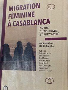 """""""الهجرة النسائية الى الدار البيضاء، بين الاستقلالية والهشاشة""""، مؤلف جديد لمجموعة """"تيويزي"""""""
