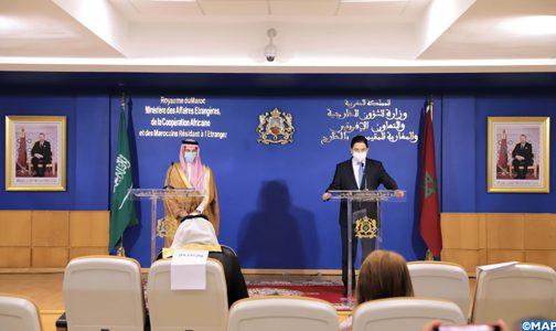هناك توافق وانسجام في الرؤى بين المغرب والسعودية حيال التحديات المحدقة بالعالم العربي