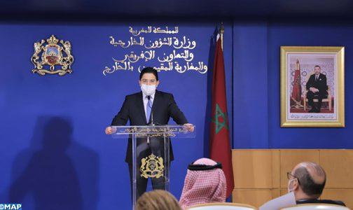 السيد بوريطة: هناك تطابق في وجهات النظر بين المغرب والسعودية بشأن حل الأزمة الليبية