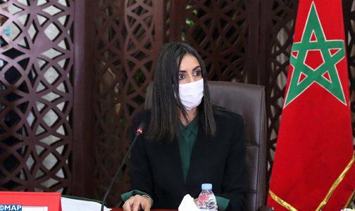 السيدة فتاح العلوي: المغرب حريص على أن يكون استئناف الأنشطة السياحية مقرونا بالمحافظة على صحة المواطنين