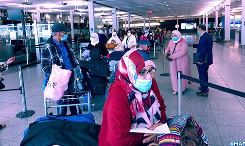 تنظيم رحلة لإعادة 290 مغربيا عالقين بكندا