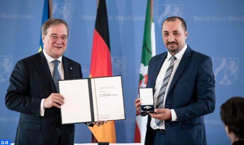 تكريم الباحث المغربي سامي شرشيرة بألمانيا