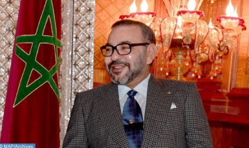 برقية تهنئة إلى جلالة الملك من الرئيس البرتغالي بمناسبة عيد العرش المجيد