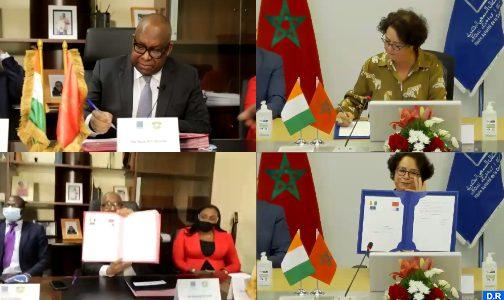 توقيع اتفاقية شراكة وتعاون بين الهيأة العليا للاتصال السمعي البصري ونظيرتها الإيفوارية
