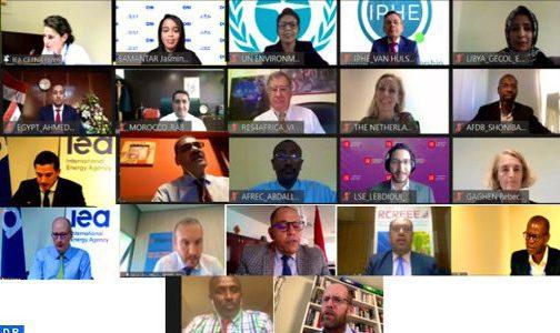 استعراض النموذج الطاقي المغربي خلال ندوة إقليمية افتراضية للوكالة الدولية للطاقة