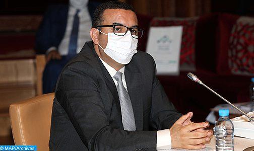 السيد أمكراز يستعرض الإجراءات المتخذة في مجال الحماية الاجتماعية ومواكبة المقاولات المتضررة من جائحة (كوفيد-19)