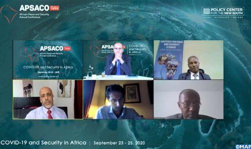 (محادثات أبساكو).. تعزيز القدرات والبنيات التحتية للدول يحول دون تصاعد عنف الجماعات المتطرفة (خبراء)
