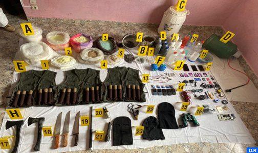الخلية الإرهابية المفككة يوم 10 شتنبر: إحالة خمسة أشخاص على قاضي التحقيق