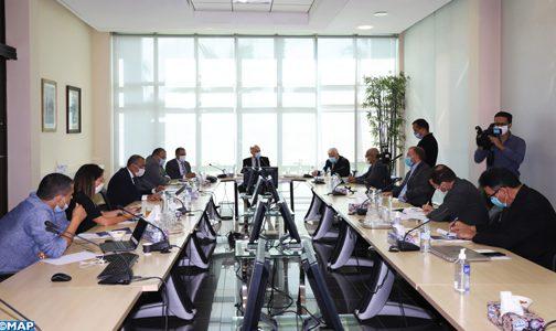 اللجنة الخاصة بالنموذج التنموي تعقد جلسة عمل مع وفد عن حزب العدالة والتنمية