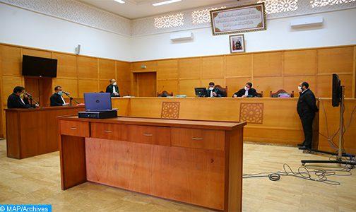 استفادة 9391 معتقلا من عملية المحاكمات عن بعد ما بين 14 و18 شتنبر الجاري
