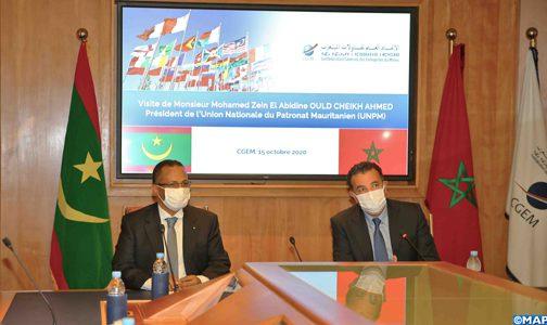الاتحاد العام لمقاولات المغرب / الاتحاد الوطني لأرباب العمل الموريتانيين .. التزام مشترك للنهوض بالعلاقات الاقتصادية في مختلف المجالات
