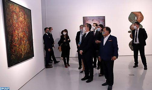 """السيد دارمانان يشيد ب""""الجهود الكبيرة"""" لصاحب الجلالة الملك محمد السادس من أجل الثقافة والانفتاح الثقافي"""