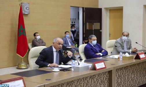 اللجنة الخاصة بالنموذج التنموي تلتقي ممثلين مؤسساتيين عن جهة العيون – الساقية الحمراء