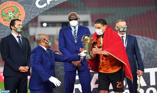 كأس الكونفدرالية الإفريقية (النهاية).. فريق نهضة بركان يتوج بلقبه الأول