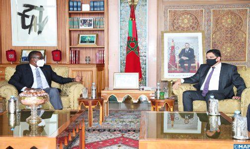 تعزيز التعاون الثنائي في صلب المباحثات بين السيد بوريطة ونظيره الرواندي