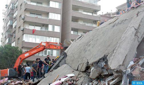 تركيا.. ارتفاع عدد ضحايا زلزال إزمير إلى 12 قتيلا و419 جريحا
