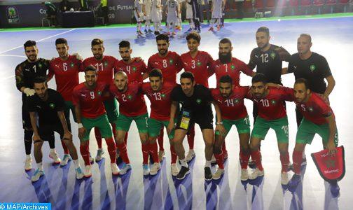 مباراتان وديتان للمنتخب الوطني المغربي لكرة القدم داخل القاعة ضد نظيره الروماني يومي 8 و9 دجنبر المقبل