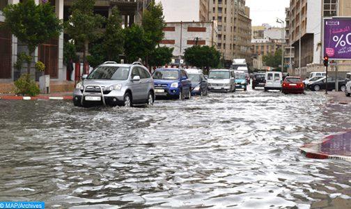 اجتماع بالدار البيضاء لتقييم الأضرار التي خلفتها التساقطات المطرية الأخيرة بالمدينة