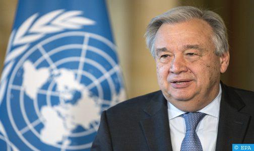 الأمين العام للأمم المتحدة يعرب عن أسفه لفشل التضامن العالمي في مجال التلقيح ضد (كوفيد- 19)