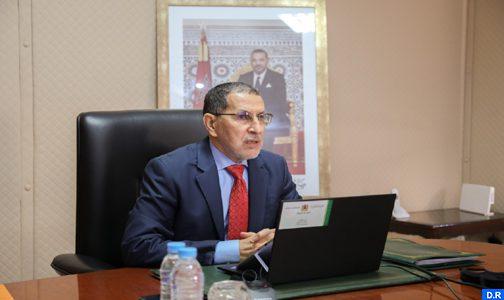 السيد العثماني: المغرب حقق مكاسب حقيقية ذات طابع استراتيجي في أقاليمه الجنوبية