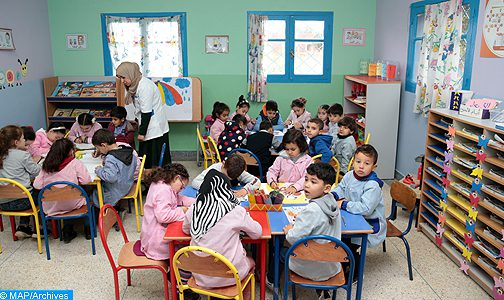 طنجة أصيلة : المبادرة الوطنية للتنمية البشرية تولي أهمية خاصة للتعليم الأولي