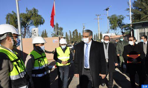 خريبكة: السيد رباح يزور محطة معالجة المياه العادمة للمكتب الشريف للفوسفاط