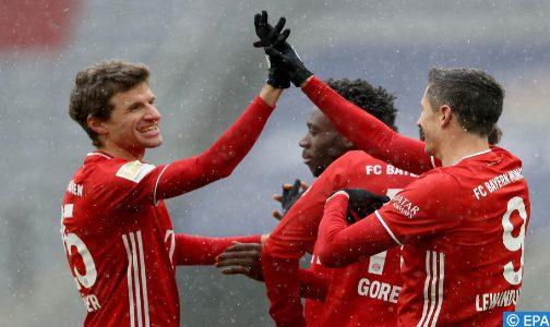 بطولة ألمانيا لكرة القدم (الدورة ال16).. بايرن ميونيخ يفوز على ضيفه فرايبورغ ويبتعد في الصدارة