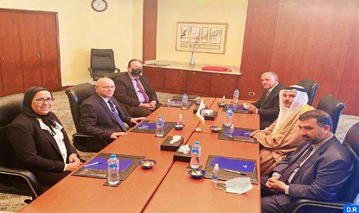 رئيس البرلمان العربي يشيد بالدور الريادي الذي يضطلع به جلالة الملك في دعم القضايا العربية والإقليمية