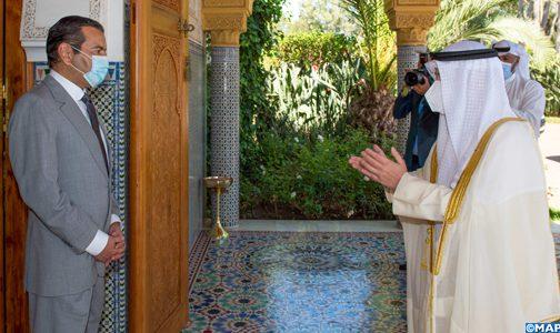 صاحب السمو الملكي الأمير مولاي رشيد يستقبل وزير الخارجية الكويتي حاملا رسالة من أمير دولة الكويت إلى جلالة الملك