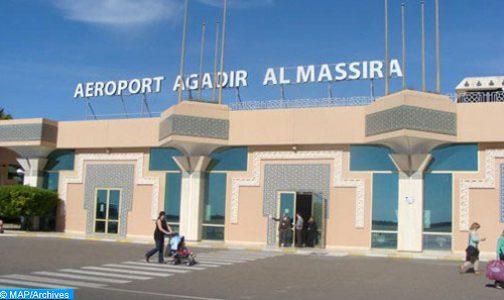 أزيد من 44 ألف مسافر استعملوا مطار أكادير ـ المسيرة في يونيو 2021