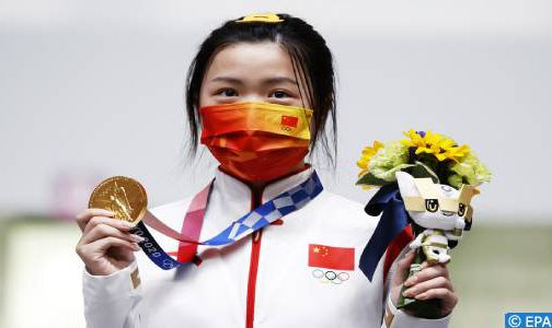 أولمبياد طوكيو- رماية: الصينية كيان يانغ تفوز بأول ذهبية في الألعاب
