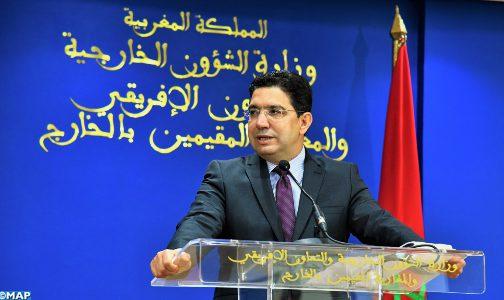 المغرب متشبث باستقرار وتنمية منطقة الساحل (السيد بوريطة)