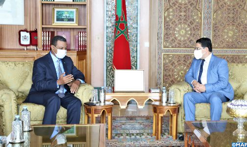 السيد بوريطة يتباحث مع رئيس مكتب لجنة العلاقات الخارجية بالجمعية الوطنية الموريتانية