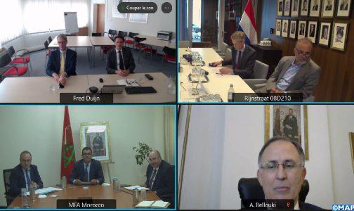 التوقيع على خطة عمل بين المغرب وهولندا لتعزيز التعاون الثنائي