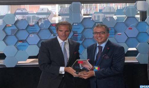 فيينا.. المغرب يتسلم درع المساهمة في مشروع تجديد مختبرات الوكالة الدولية للطاقة الذرية للتطبيقات النووية