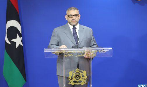 رئيس المجلس الأعلى للدولة في ليبيا يشيد بجهود المغرب الرامية لتقريب وجهات نظر الفرقاء في هذا البلد
