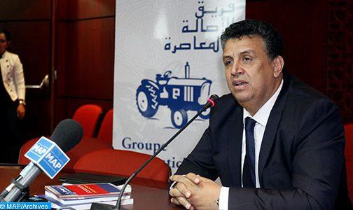 انتخاب عبد اللطيف وهبي عن حزب الأصالة والمعاصرة رئيسا للمجلس الجماعي لتارودانت