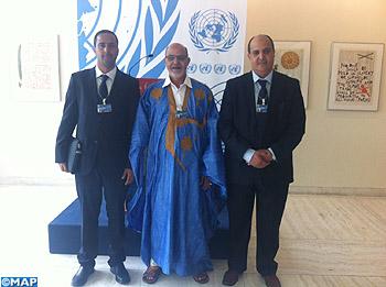 La Haut-commissaire aux DH reçoit une délégation de militants sahraouis
