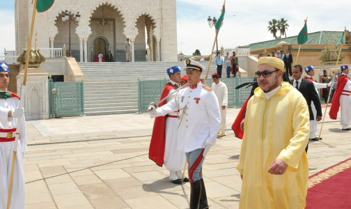 SM le Roi, a accompli la prière du vendredi