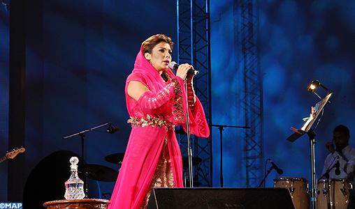 Assala Nasri fait un tabac au Festival des musiques sacrées de Fès