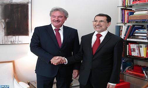 Le Maroc et le Luxembourg font le point sur leurs relations bilatérales