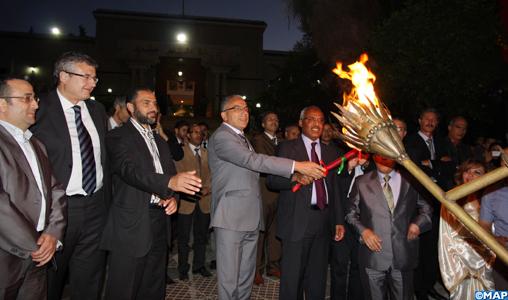 La cérémonie de retraite aux flambeaux ouvre le festival des cerises de Sefrou