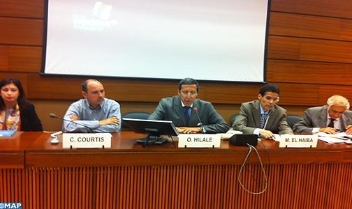 Droits fondamentaux: présentation à Genève de l'expérience marocaine